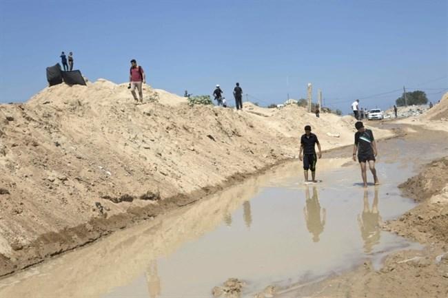 Medio Oriente. Hamás rescata a siete de sus hombres de un túnel y acusa a Egipto