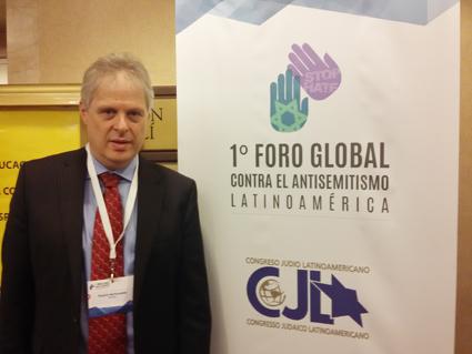 """Antisemitismo. Brasil: """"Nuestros gobiernos no tienen la información correcta y nuestro rol es llevárselas"""""""