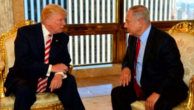 "Trump se compromete con Netanyahu a ""reconocer a Jerusalem como capital indivisible del Estado de Israel"""