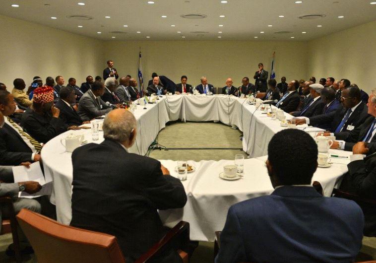 """Netanyahu se reunió con líderes africanos en la ONU: """"Nos gustaría proponerles amistad y colaboración"""""""