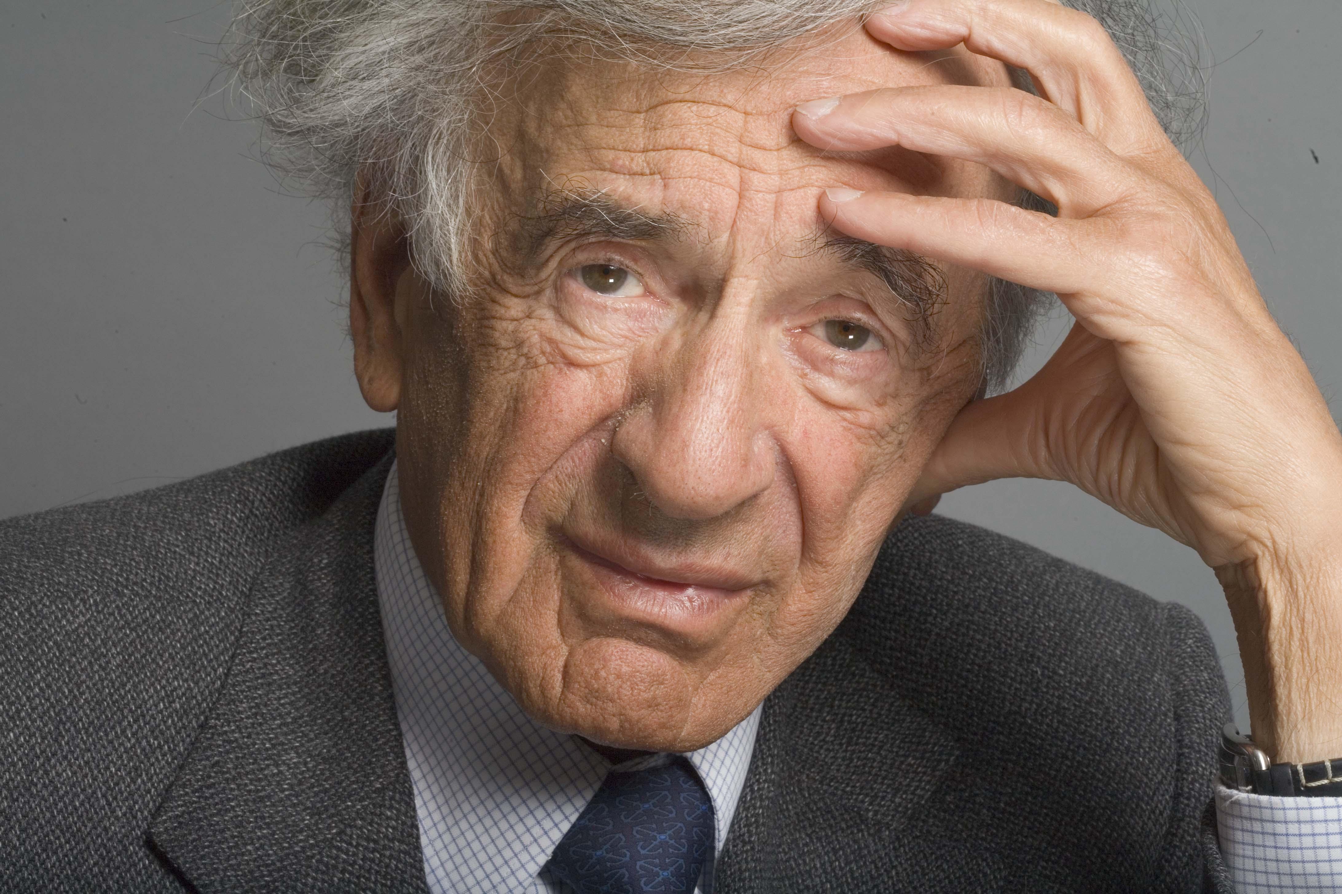 El Presidente y la canciller alemanes y el mandatario rumano rinden homenaje a Elie Wiesel