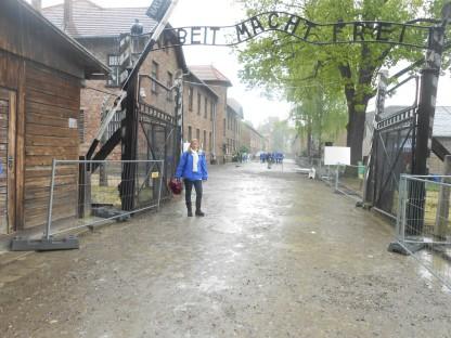 Marcha por la Vida de Argentina en Auschwitz