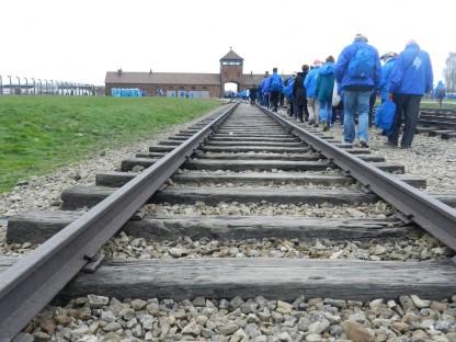 Marcha por la Vida de Argentina rumbo a Birkenau