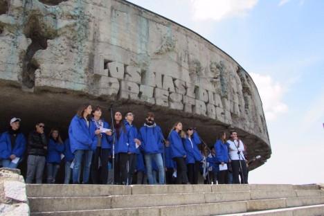 Marcha por la Vida de Argentina en Majdanek