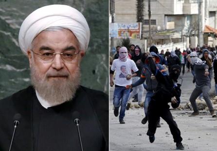 """Irán anuncia que financiará a """"las familias de los mártires palestinos que murieron en la 'Intifada de Jerusalem'"""""""