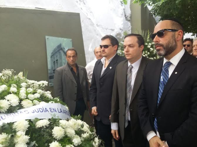 Se conmemoró el acto por el aniversario del atentado a la embajada de Israel en Buenos Aires