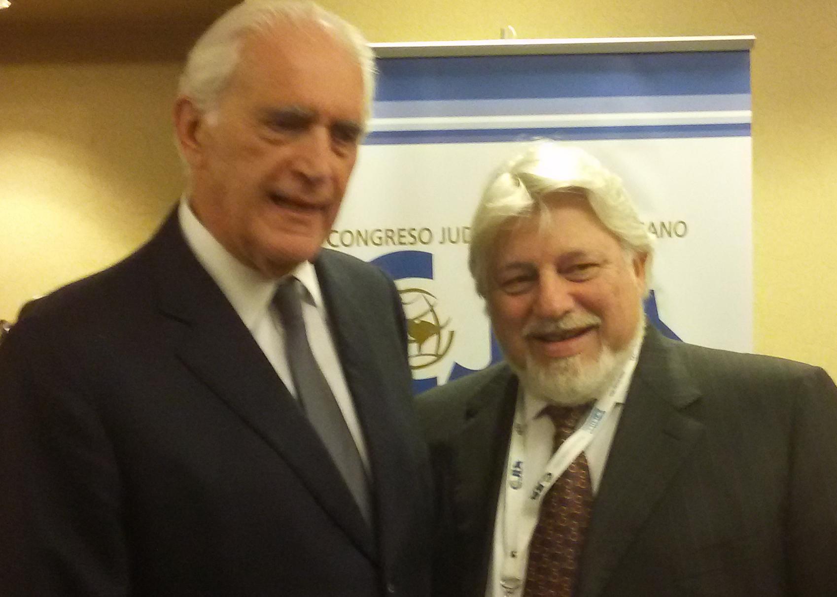 """Werthein, del Congreso Judío Latinoamericano: """"El antisemitismo en la región es un espejo del mundo"""""""
