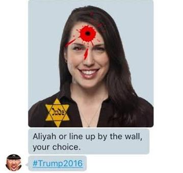 Antisemitismo: partidarios de Trump amenazaron de muerte a una periodista