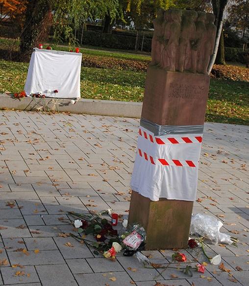 Alemania: pintaron grafitis en un monumento conmemorativo de una sinagoga