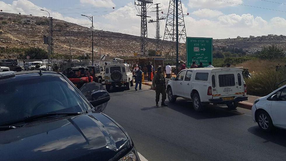 Intento de ataque a puñaladas en Kiryat Arba