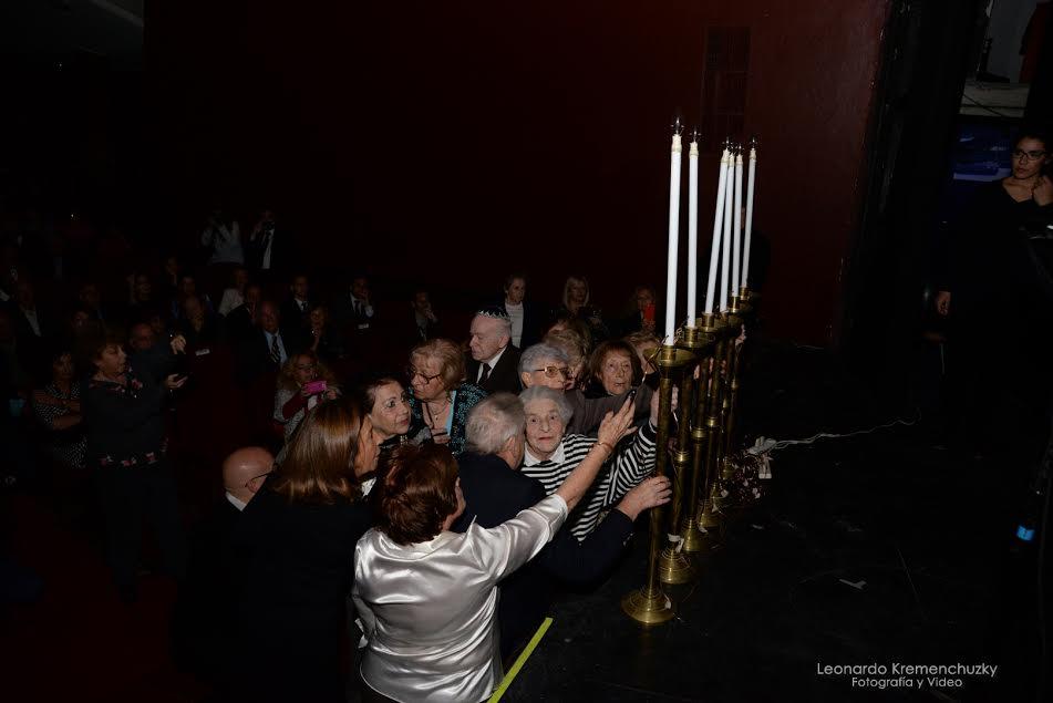 """La Comunidad Judía recordó el """"Día del Holocausto y del Heroísmo"""""""