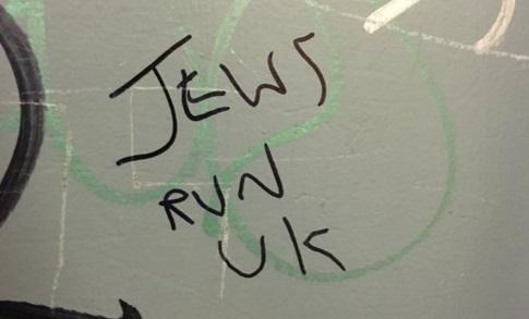 Se denunciaron grafitis antisemitas en Londres