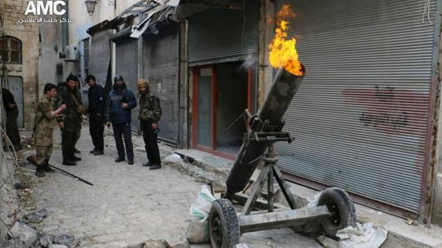 La oposición siria busca armas antiaéreas
