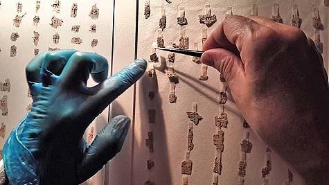 Piezas de los Rollos del Mar Muerto serán unidas digitalmente