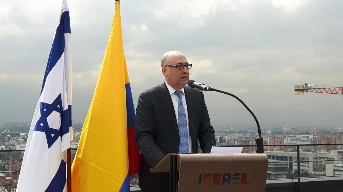 El Embajador de Israel, Sr. Marco Sermoneta
