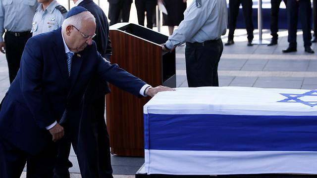 Galería de fotos. El pueblo israelí despide a Peres en la Knesset