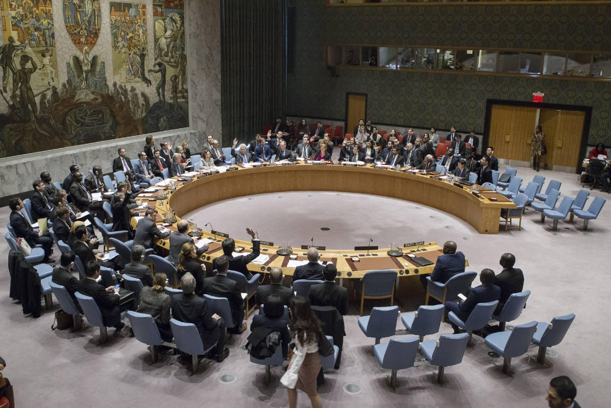 El Consejo de Seguridad de la ONU aprueba la resolución anti-asentamiento. EE.UU. se abstiene