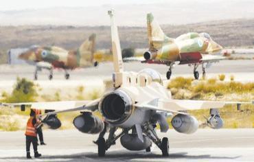 viones_militares_israelies