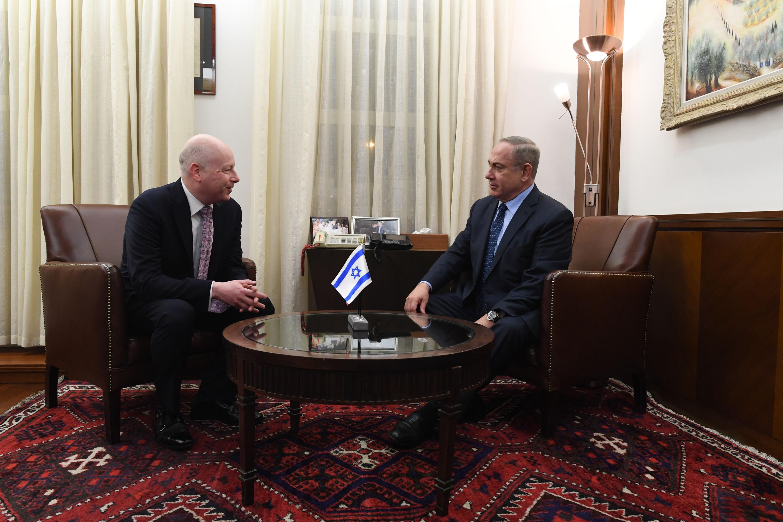 PM Netanyahu & Jason Greenblatt