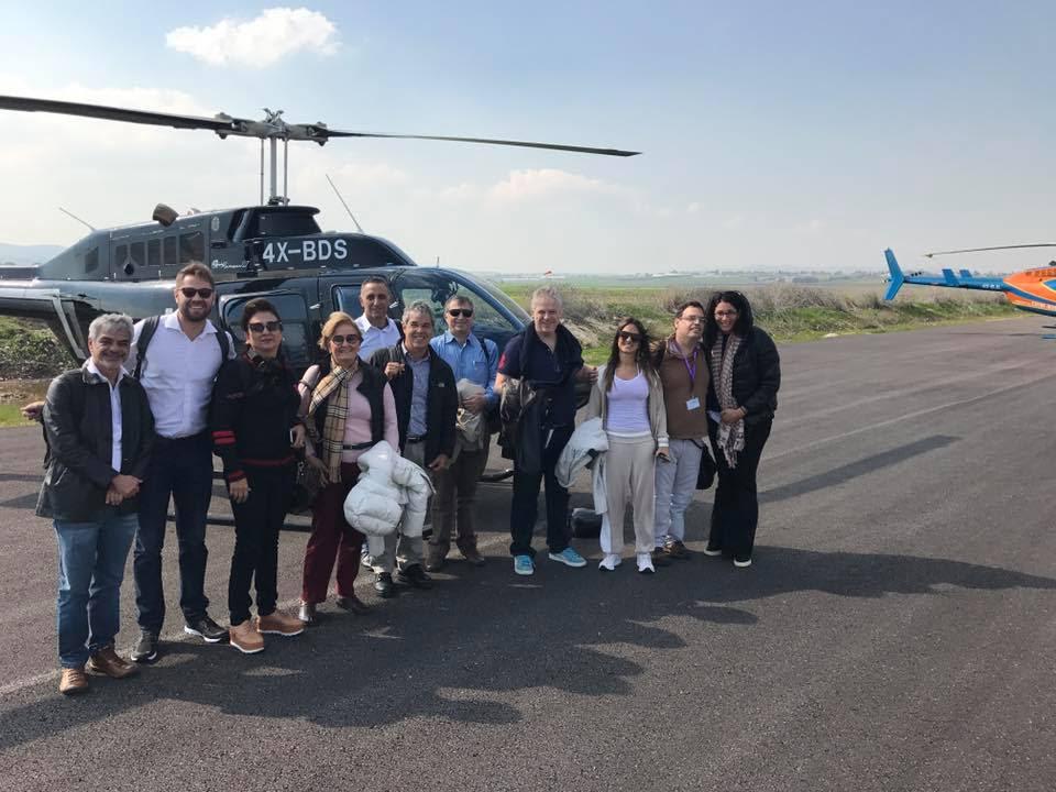 Un grupo de líderes del senado brasileño visitó Israel