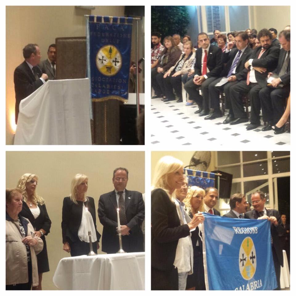 Emotivo homenaje de la Asociación Calabresa a 25 años del atentado a la embajada