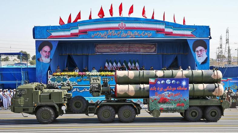 Mideast Iran US Israel Military Parade