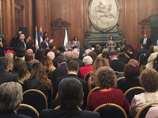 Aniversario Embajada: La Legislatura porteña homenajeó a las víctimas del atentado a 25 años