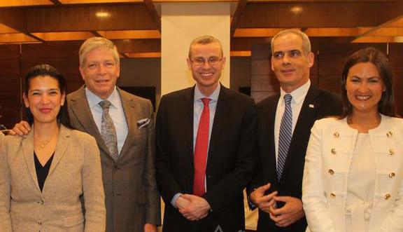 El ministro de turismo de Israel visitó México para promover las relaciones con América Latina