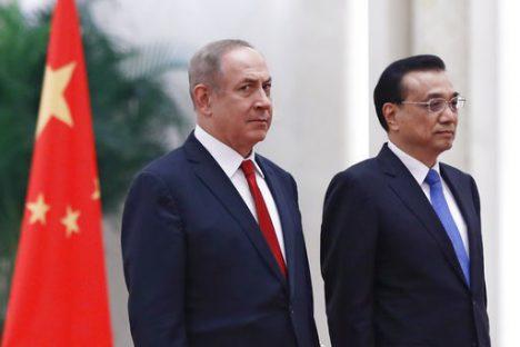 Netanyahu firmó acuerdos económicos con China y se reunió con empresarios de ambos países