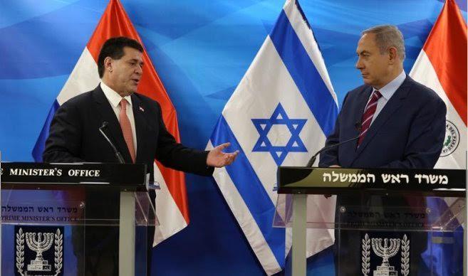 """UNESCO: Netanyahu agradeció a Paraguay voto contra """"decepcionante"""" resolución sobre soberanía en Jerusalem"""