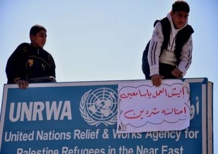 unrwa protest2