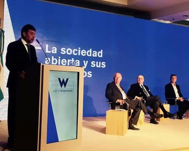 """Con la presencia de Macri, Werthein inauguró el encuentro """"Responsabilidades y derechos del ejercicio ciudadano"""""""