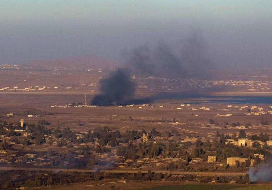 Golan siria bombardeo