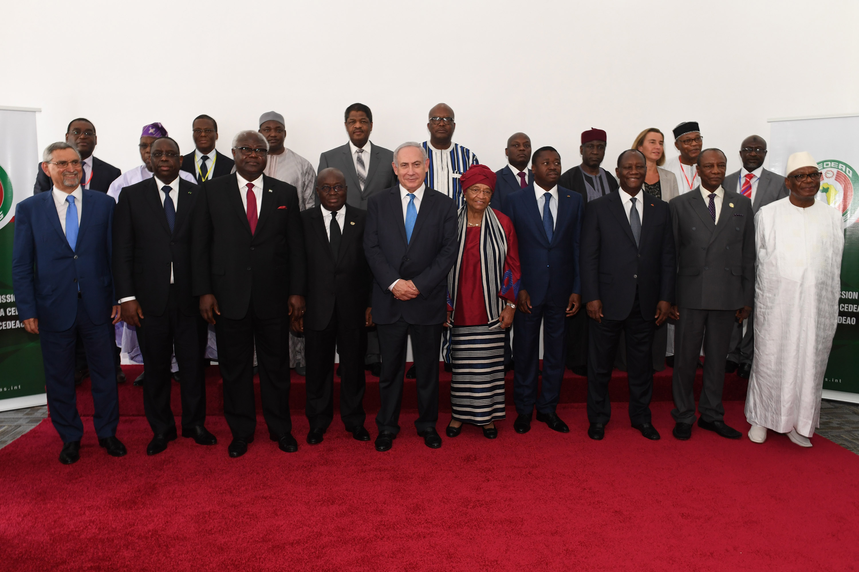 PM Netanyahu & ECOWAS heads of state