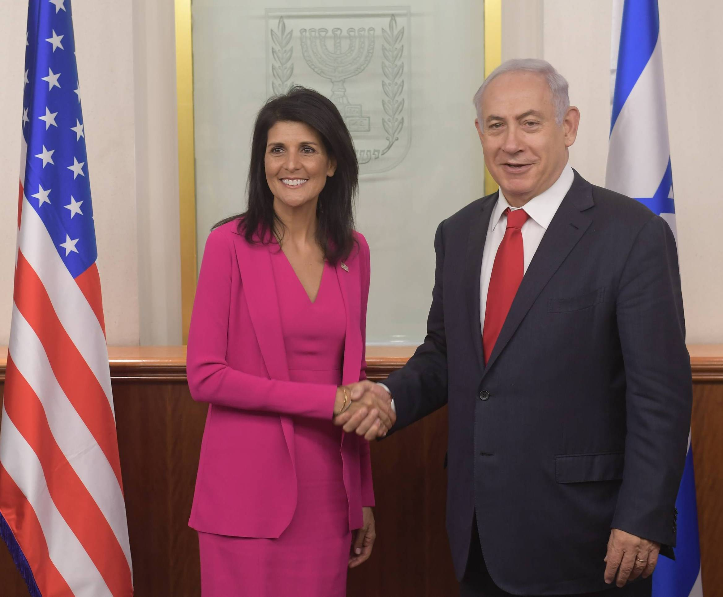 PM Netanyahu and Nikki Haley