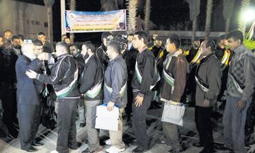 Terroristas palestinos