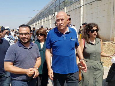 Basel Ghattas ingresa a la cárcel