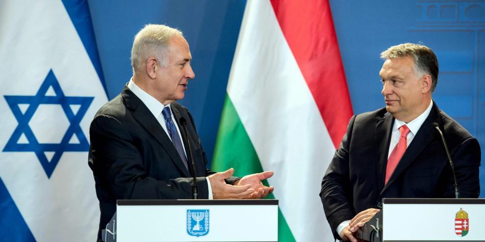 Netanyahu Orban hungría