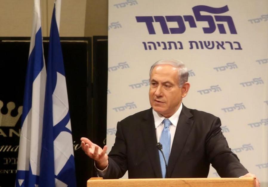 Netanyahu gesto