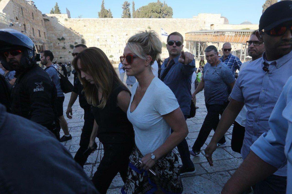 Britney Spears en Jerusalem