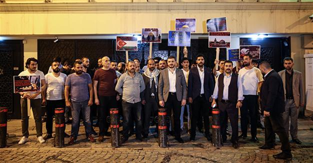 Turquia sinagoga protesta