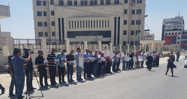 protesta periodistas