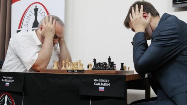 Ajedrez Kasparov