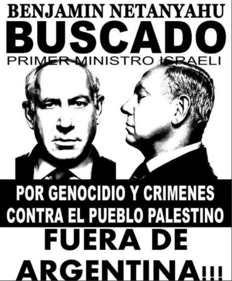 Netanyahu buscado