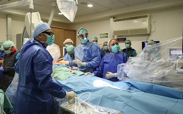 Por primera vez probaron un implante israelí para tratar la insuficiencia cardíaca