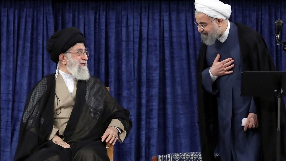 ayatola ali khamenei hassan rohani iran