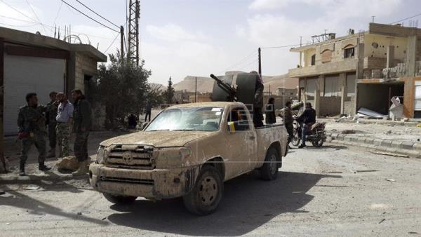 soldados siria damasco