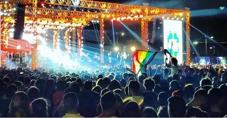 Bandera gay recital