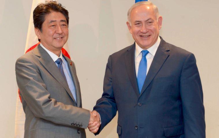 Netanyahu abe japon