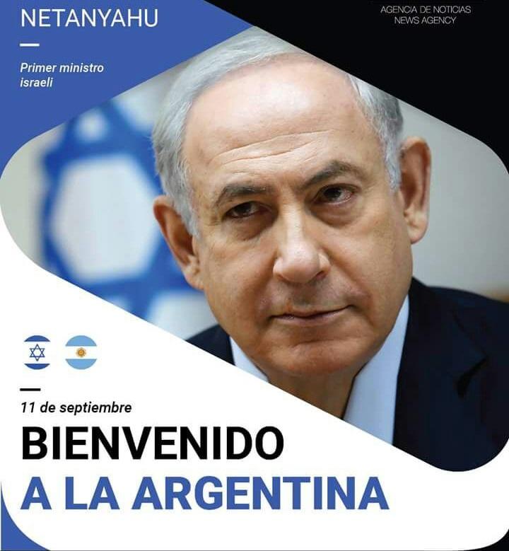 Netanyahu argentina